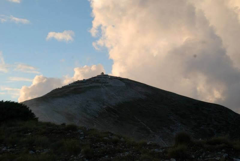 The view of mount Tomorr